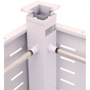 Rapid span electric corner pole 100kg lifting capacity white