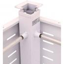 RAPID SPAN ELECTRIC CORNER POLE 100KG LIFTING CAPACITY WHITE