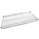 Rapidline chrome single wire shelf 1200 x 600mm