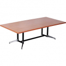Rapidline typhoon meeting table 1800 x 900 x 750mm beech