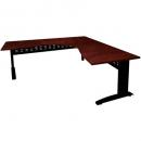 Rapid manager corner desk 1800 x 1800 x 600mm appletree