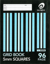 Grid book 225 x 175mm 48 page 5mm