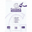 Graph pad gormack c022y A4 5mm 50 sheets