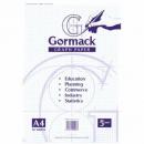 Graph pad gormack c022y a4 5mm 50 sheets