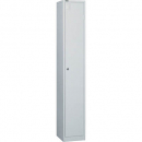 Go steel locker 1 door 305 x 455 x 1830mm white