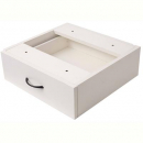 RAPID VIBE DESK PEDESTAL FIXED 1 DRAWER 465 X 447 X 152MM WHITE
