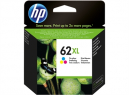 Hp no 62xl ink cartridge high yield colour