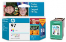 Hp c9363wa no 97 ink cartridge 14ml tri colour