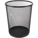 Italplast mesh tidy bin round 15 litre black