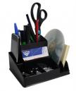 Italplast I35blk desk organiser black