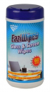 Italplast eaziwipes glass and mirror wipes pack 60