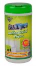 Italplast eaziwipes antibacterial wipes pack 60