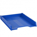 Italplast slimline multifit document tray A4 blueberry