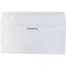 initiative DL plain envelope self seal secretive 110 x 220mm box 500