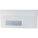 Initiative DL window envelopes self seal secretive 80gsm 110 x 220mm box 500
