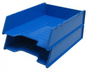 Italplast multi fit document tray A4 blueberry