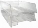 Italplast multi fit document tray clear