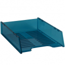 Italplast multi fit document tray A4 neon blue