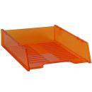 Italplast i 60tor multi fit document tray a4 staggered tinted orange
