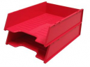 Italplast multi fit document tray A4 watermelon