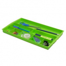 Italplast drawer tidy lime