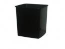 Italplast tidy bin 15 litre black