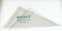 Kent no 10 set square 32cm 45& 60 degrees wallet 2