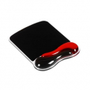 Kensington duo gel mouse pad black/red