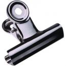 Chrome letter clips bulldog 63/64mm