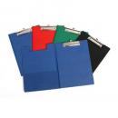 Marbig pvc clipfolder A4 black