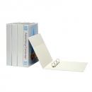 Marbig insert binder landscape A3 3 ring 50mm white