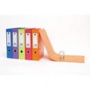 Marbig lever arch file pvc A4 70mm orange
