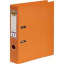 Marbig linen lever arch file PE A4 orange
