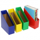 Marbig magazine holder colours assorted pack 3