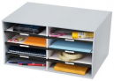 Marbig sort n stor grey 8 compartments