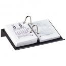 Marbig desk calendar stand side open acrylic