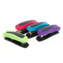 Marbig plastic half strip stapler asst colours