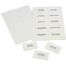 Rexel convention badge self adhesive pack 24
