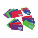 Marbig name pencil case 225 x 140mm assorted colour