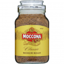 Moccona classic medium roast coffee 400g jar