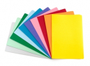 Manilla folders foolscap assorted colour pack 20