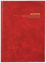 Milford account book A4 hard cover minute paged