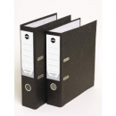 Marbig lever arch file paper spine a4 black