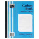 Olympic 606 plain carbon book duplicate 250 x 200mm 100 leaf