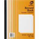 Olympic 706 record book carbonless duplicate 250 x 200mm 50 leaf