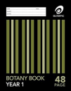 Olympic botany book 225x175mm 48 page 24mm year 1 qld ruled
