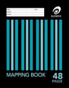 Olympic mapping book 225 x 175mm 48 page