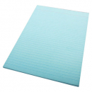 Office pad coloured A4 70 leaf ruled blue