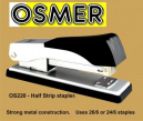 Osmer half strip metal