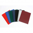 Cumberland display book refillable A4 20 pocket burgundy